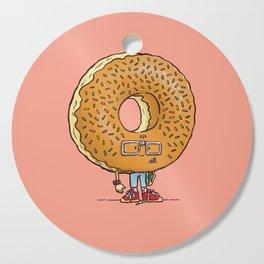 Nerd Donut Cutting Board