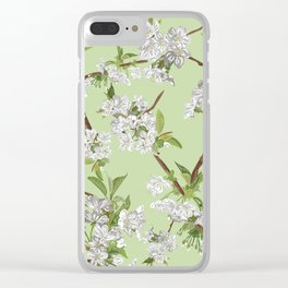 Early Blossom Clear iPhone Case