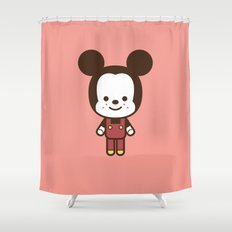 #49 Mouse Shower Curtain