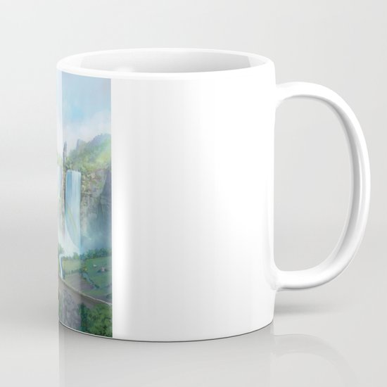 epic fantasy castle  Mug
