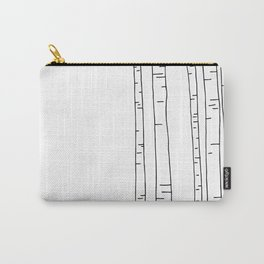 Minimal birches Carry-All Pouch