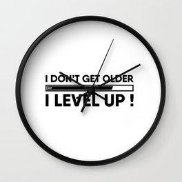Gamer Birthday Wall Clock