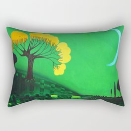 Nigh calm Rectangular Pillow