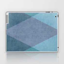 the blue triangles Laptop & iPad Skin