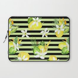 watercolor seamless pattern fresh summer Laptop Sleeve