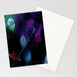 Planetary Drift Stationery Cards