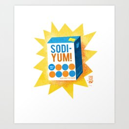 Sodiyum Art Print