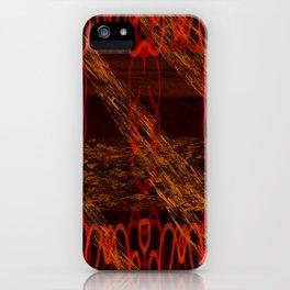 Autumn Tribal II iPhone Case