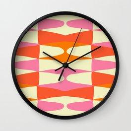 Zaha Sixties Wall Clock