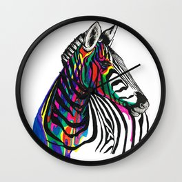 Almost a Unicorn Wall Clock