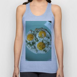 fried egg Unisex Tank Top