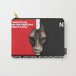NEVER FORGET - Mordin Solus- Mass Effect Carry-All Pouch