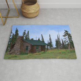 Let's Go Camping! Rug