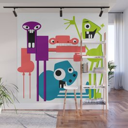 More Friends Wall Mural
