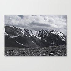 severe Canvas Print