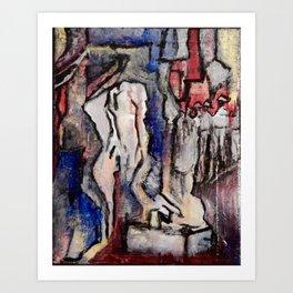 Franco Fell Art Print