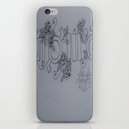 Echelon. Yes This Is A Cult. iPhone Skin