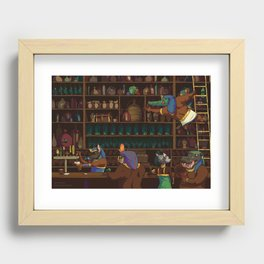 The Canopic Jar Recessed Framed Print