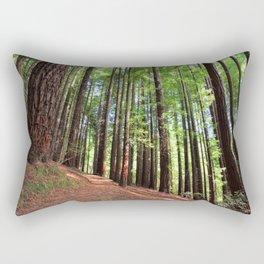Sequoias in Cabezon de la Sal, Spain. Rectangular Pillow