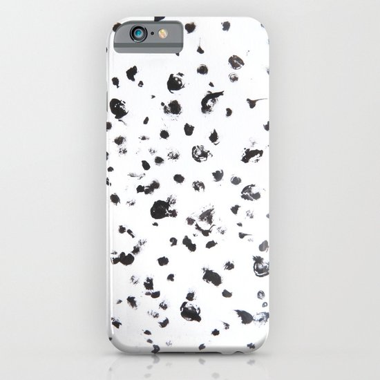 Black Dots iPhone & iPod Case