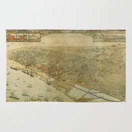 Galveston, Texas 1885 Rug