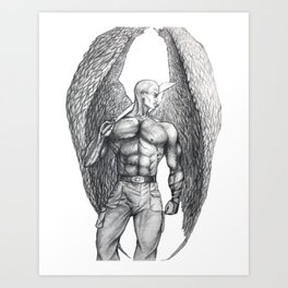 Donovan Angel Art Print
