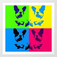 doge Art Prints featuring doge by myepicass