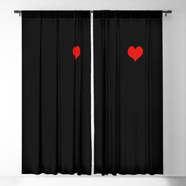 Tangled Up Heart Blackout Curtain
