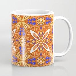 Fall colorful tiles Coffee Mug