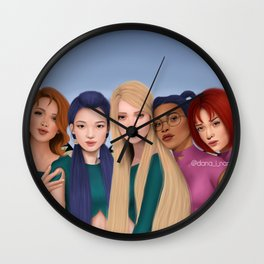 W.I.T.C.H. Wall Clock