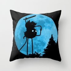 A.T. - With Finn and Jake Throw Pillow
