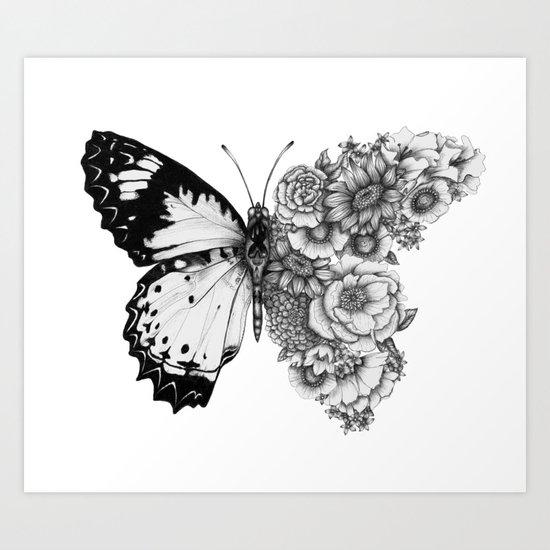 Butterfly in Bloom by ecmazur