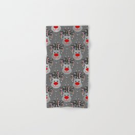 Holiday Reindeer Hand & Bath Towel