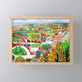 Espanola Framed Mini Art Print