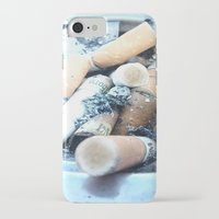 cigarettes iPhone & iPod Cases featuring Cigarettes by Beatrice