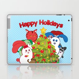 Ernest | Winter Holidays Laptop & iPad Skin