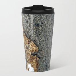 Gold Inlay Marble Travel Mug
