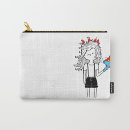 On Fire by Sarah Pinc Carry-All Pouch