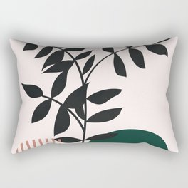 Geometric Art, Boho Modern, Abstract Art Rectangular Pillow
