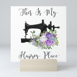This Is My Happy Place Mini Art Print