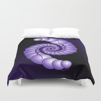 hook Duvet Covers featuring Julia's Hook by artsytoocreations