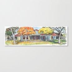 Davis Art Center Canvas Print