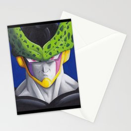 Cell Portrait Painting Stationery Cards