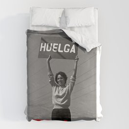 Chicana Activist Hall of Fame Duvet Cover