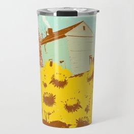 SUNFLOWER CABIN Travel Mug