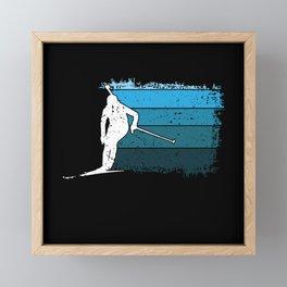 Biathlon Biathlon Shooting Range Biathlon Air Framed Mini Art Print