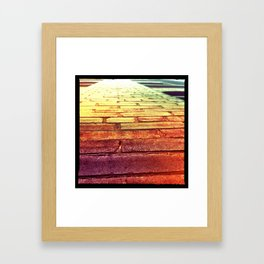 Bricks Framed Art Print