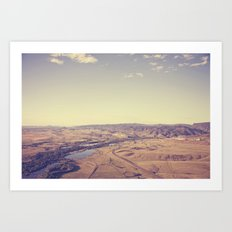 dream world::denver Art Print