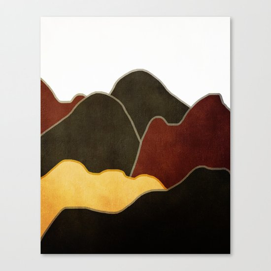 Landscape NC 10 Canvas Print