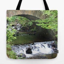 Little Bridge at the Falls Tote Bag